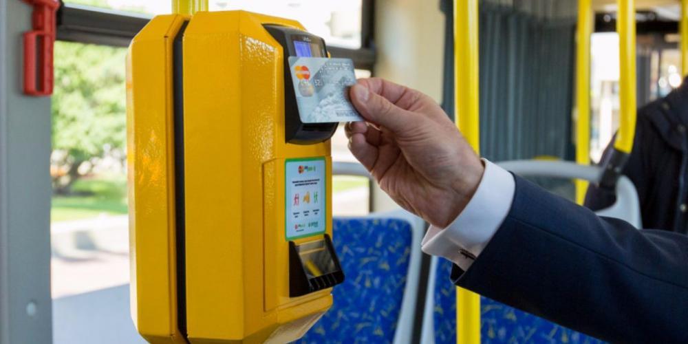 бесконтактная оплата проезда
